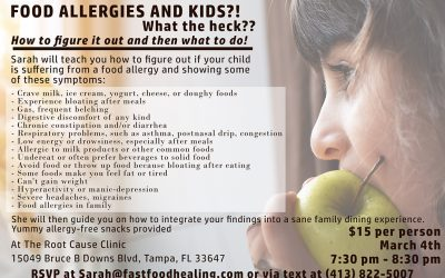 Food Allergies and Kids – What the heck!?