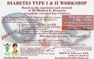 Diabetes Workshop – for Type I and II