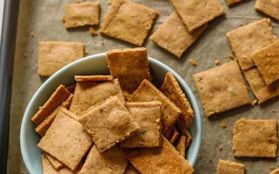 Yummy Almond Crackers
